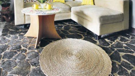 lantai batu alam