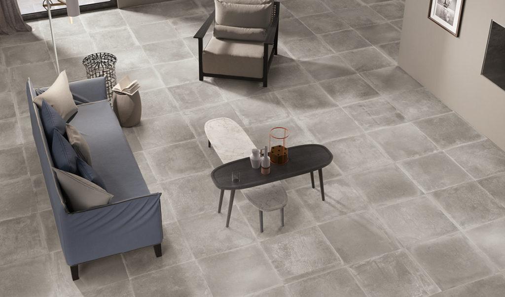 lantai batu ubin