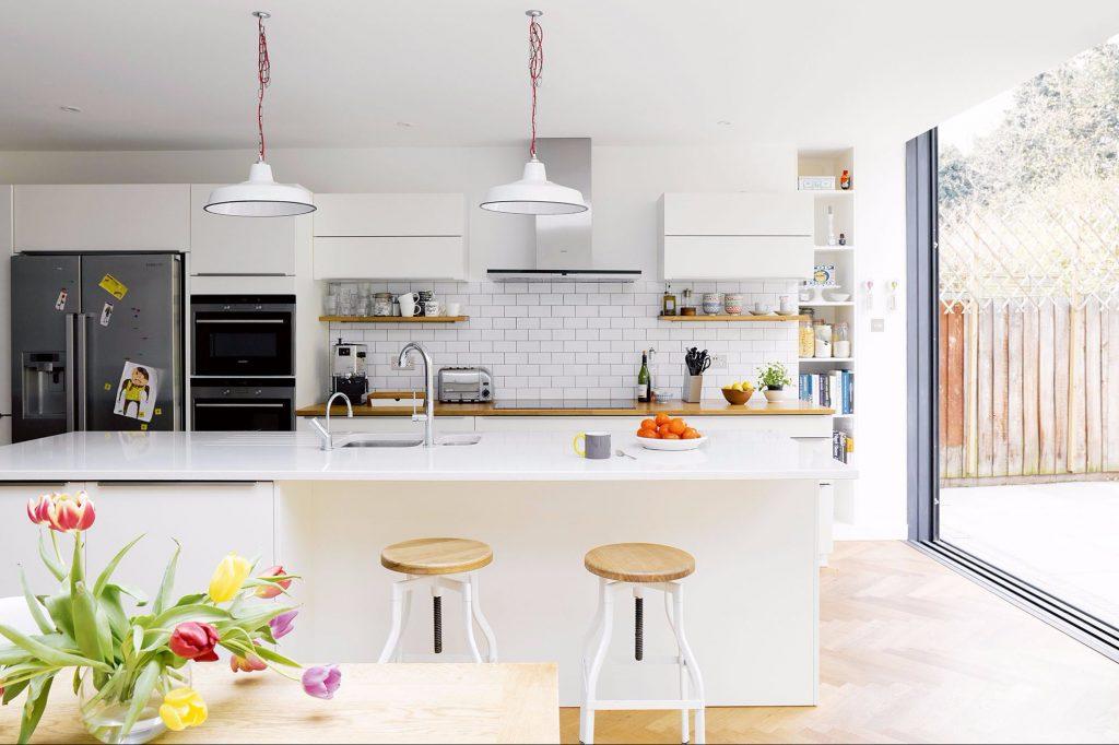 ruang makan dan dapur